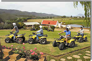 Quad bike training is essential part of planning a guided tour