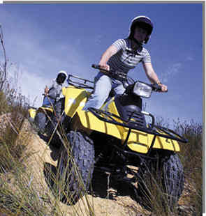 Have fun on a well planned quad bike tour