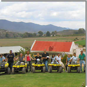 Team building at Radouw Quads - make your quad bike team building an adventure
